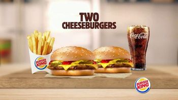 Burger King TV Spot, 'Big Deal on a Big Meal'