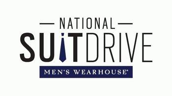 Men's Wearhouse National Suit Drive TV Spot, 'Change a Life'