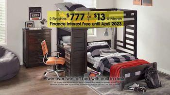 Peachy Rooms To Go Kids 27Th Anniversary Sale Tv Commercial Twin Loft Bed Video Download Free Architecture Designs Saprecsunscenecom