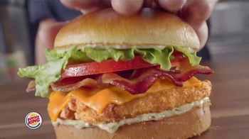Burger King Chicken Sandwiches TV Spot, 'Something Extra'