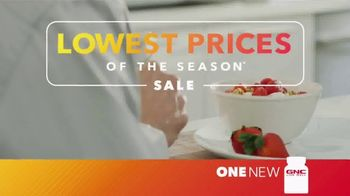 GNC Lowest Prices of the Season Sale TV Spot, 'Top Brands'