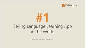 Babbel TV Spot, 'Top Selling Language Learning App'