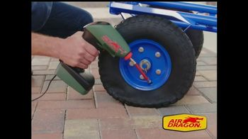 Air Dragon TV Spot, 'Portable Air Compressor' - Thumbnail 5