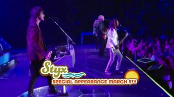 2018 '70s Rock & Romance Cruise TV Spot, 'Fun at Sea' Feat. Styx, America
