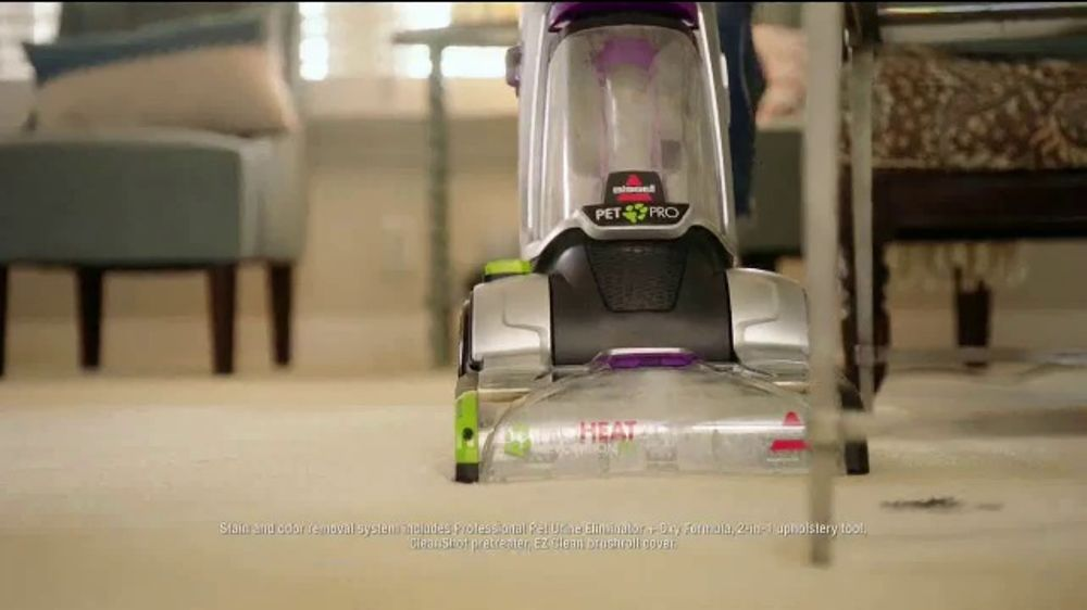 bissell proheat 2x revolution pet pro tv commercial u0027we love petsu0027 ispottv