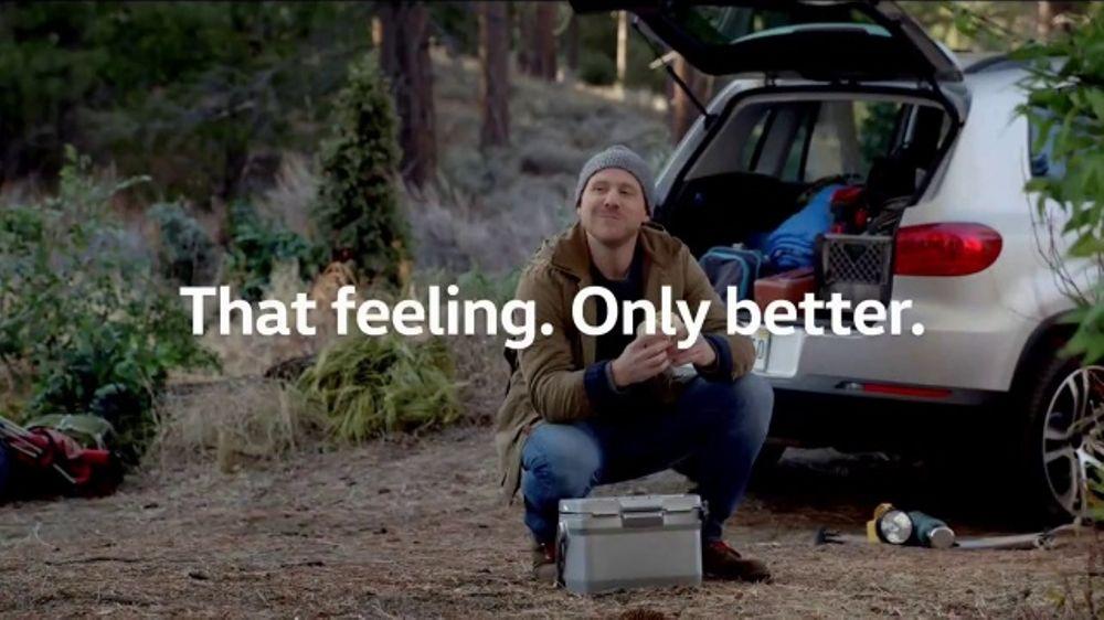 Volkswagen Memorial Day Event TV Commercial, 'That Feeling: Bear Encounter' - iSpot.tv