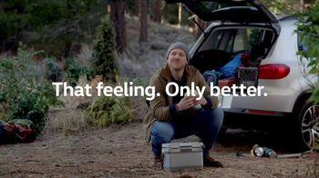 Volkswagen Memorial Day Event TV Spot, 'That Feeling: Bear Encounter'