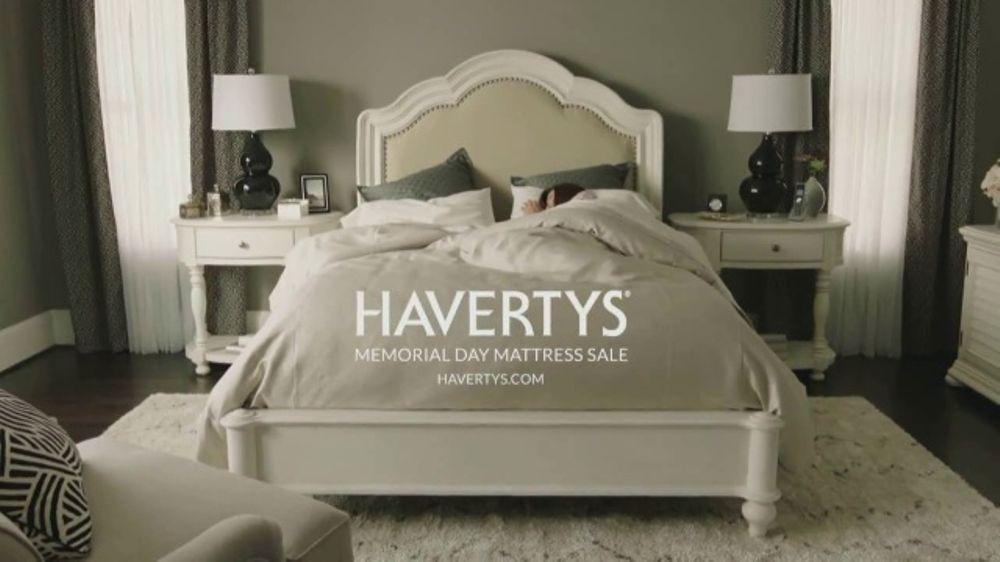 Havertys Memorial Day Mattress Sale TV mercial The