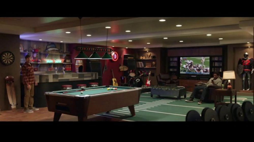 Progressive TV Commercial Super Man Cave iSpottv