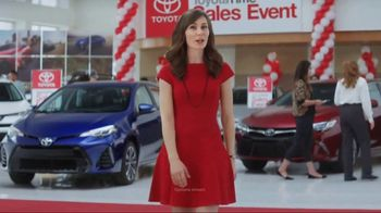 Toyota Time Sales Event TV Spot, 'Lease Deals: 2017 Corolla' - 2 commercial airings