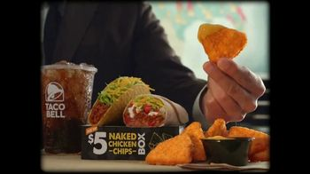 Taco Bell $5 Naked Chicken Chips Box TV Spot, 'Beware' - Thumbnail 4