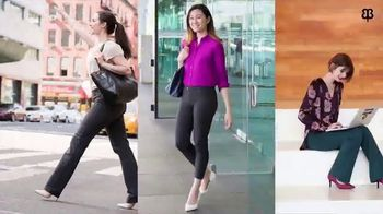 1144d649ac1ed Betabrand Dress Pant Yoga Pants TV Commercial, 'I Love My Butt ...