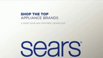 Sears Labor Day Event TV Spot, 'Top Brand Appliances' - Thumbnail 7