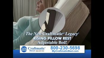 craftmatic legacy tv spot - Craftmatic Bed