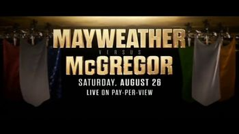 DIRECTV Pay-Per-View TV Spot, 'Mayweather vs. McGregor' Song by Aloe Blacc