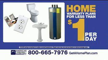 American Residential Warranty Home Warranty TV Spot, 'Worry Free'