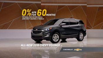 2018 Chevrolet Equinox LT TV Spot, 'Everybody, Everywhere' - Thumbnail 10