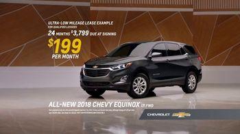 2018 Chevrolet Equinox LT TV Spot, 'Everybody, Everywhere' - Thumbnail 7