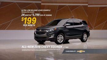 2018 Chevrolet Equinox LT TV Spot, 'Everybody, Everywhere' - Thumbnail 8