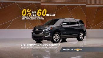 2018 Chevrolet Equinox LT TV Spot, 'Everybody, Everywhere' - Thumbnail 9