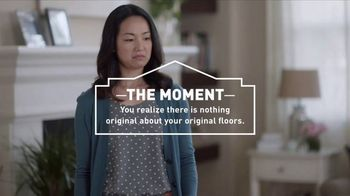 Lowe's TV Spot, 'The Moment: Original Floors: Free Installation'