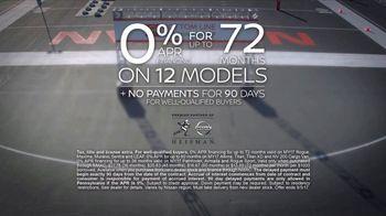 Nissan Bottom Line Model Year-End Event TV Spot, 'Heisman Trophy' - Thumbnail 9