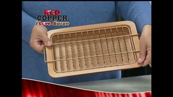 Red Copper I Love Bacon Pan TV Spot, 'The Healthier Way'