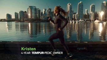 Tempur-Pedic Labor Day Event TV Spot, 'Feeling Powerful' Ft. Kristen Hetzel