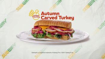 Subway Autumn Carved Turkey TV Spot, 'Inspiration' - Thumbnail 6