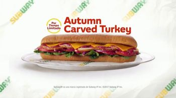 Subway Autumn Carved Turkey TV Spot, 'Llegó el pavo' [Spanish] - Thumbnail 10