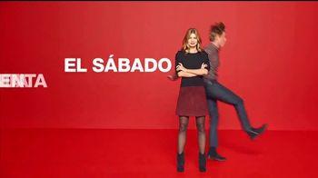 Macy's Venta de un Día TV Spot, 'Vestidos, trajes y tejidos' [Spanish]