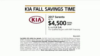 Kia Fall Savings Time TV Spot, 'Rubber Ducks' - Thumbnail 9
