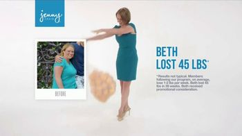 Jenny Craig TV Spot, 'Beth: Lose 20 for 20 and $70 Free Food'