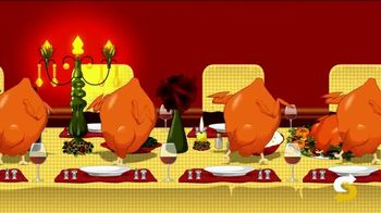 Subway Autumn Carved Turkey TV Spot, 'Mashup' Song by Ramones - Thumbnail 3