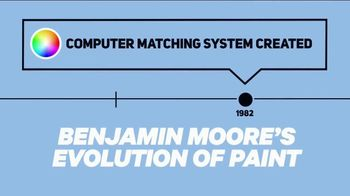 Benjamin Moore TV Spot, 'Discovery Channel: Evolution of Paint'