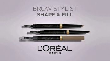L'Oreal Paris Brow Stylist Shape & Fill Pencil TV Spot, 'Express Yourself'