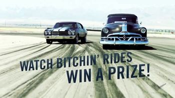 Velocity Bitchin Rides Bitchin Prize Sweepstakes Tv Commercial