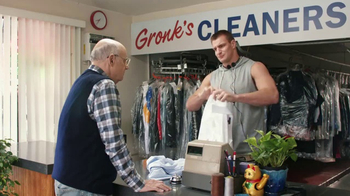 Tide PODS Plus Downy TV Spot, 'Customers Come First at Gronk's Cleaners'