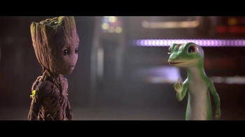 GEICO TV Spot, 'Guardians of the Galaxy Vol. 2: Groot and Gecko Team Up'