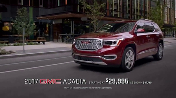 2017 GMC Acadia TV Spot, 'Maestro' Song by The Who