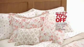 Macy's One Day Sale TV Spot, 'Kitchen Appliances, Luggage and Bedding'