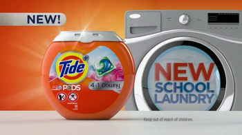 Tide PODS Plus Downy TV Spot, 'New School Laundry'