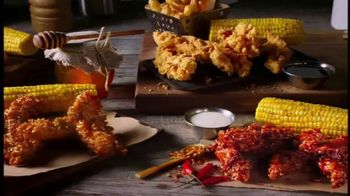 Chili\'s Chicken Crispers TV Spot, \'Bold Flavors\' Song by Lynyrd Skynyrd