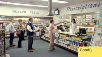 GoodRx TV Spot, 'Don't Lose Your Shirt' - 61 commercial airings