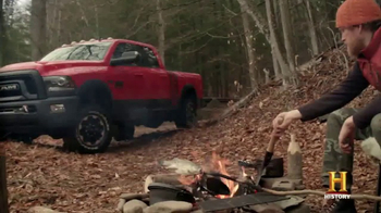 2017 Ram 2500 Power Wagon TV Spot, 'History Channel: Surviving Alone'