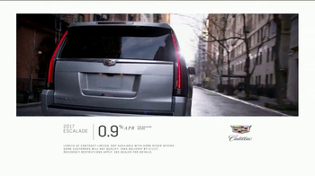 2017 Cadillac Escalade TV Spot, 'Perfect Fit: Financing' - Thumbnail 8