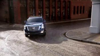 2017 Cadillac Escalade TV Spot, 'Perfect Fit: Financing' - Thumbnail 1