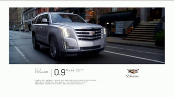 2017 Cadillac Escalade TV Spot, 'Perfect Fit: Financing'