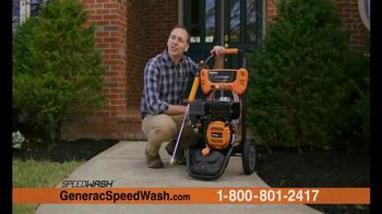 Generac 3200 PSI SpeedWash Pressure Washer TV Spot, 'Cleaning Power'