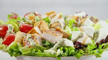 Wendy's Fresh Mozzarella Chicken Sandwich and Salad TV Spot, 'Taste Fresh' - Thumbnail 3